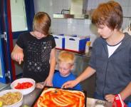 22.6.2008 Hallenübernachtung Jugendliche