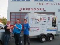 Förderverein der freiwillige Feuerwehr Eppendorf hilft