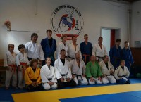 Judo-Training in Dänemark
