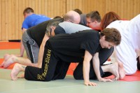 Mitarbeiter-Fortbildung zu Kampfesspielen mit Josef Riederle am 23.2.2014